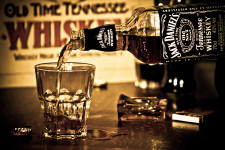Jack Daniels With Glass HD Widescreen Wallpaper And Big Poster