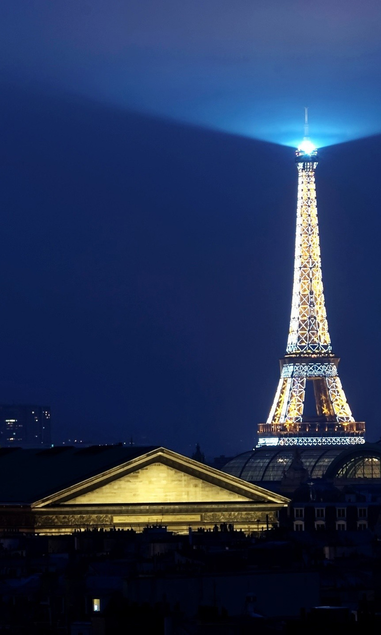 Full View and Download Eiffel Tower Paris HD Wallpaper for iPhone 5