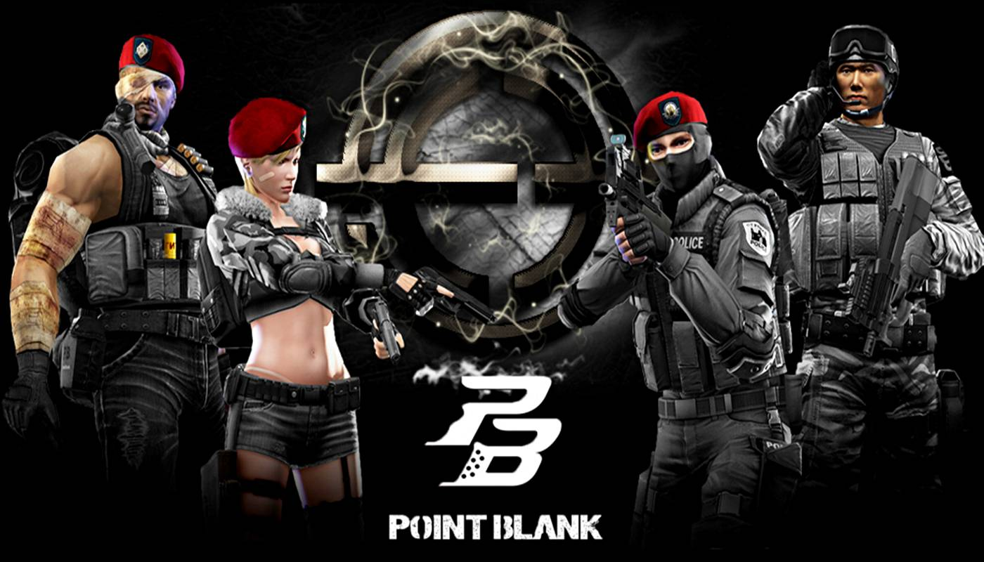 Wallpaper Widescreen HD Point Blank Online Number One Games