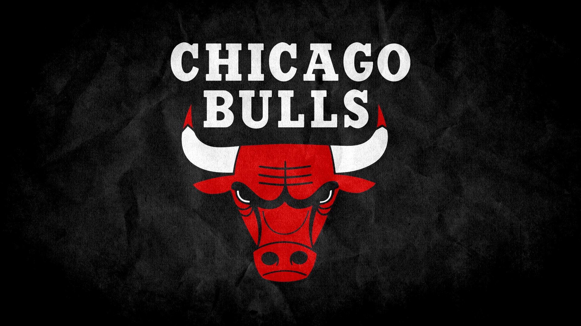Chicago Bulls Logo Black Wallpaper HD Background With High Resolution