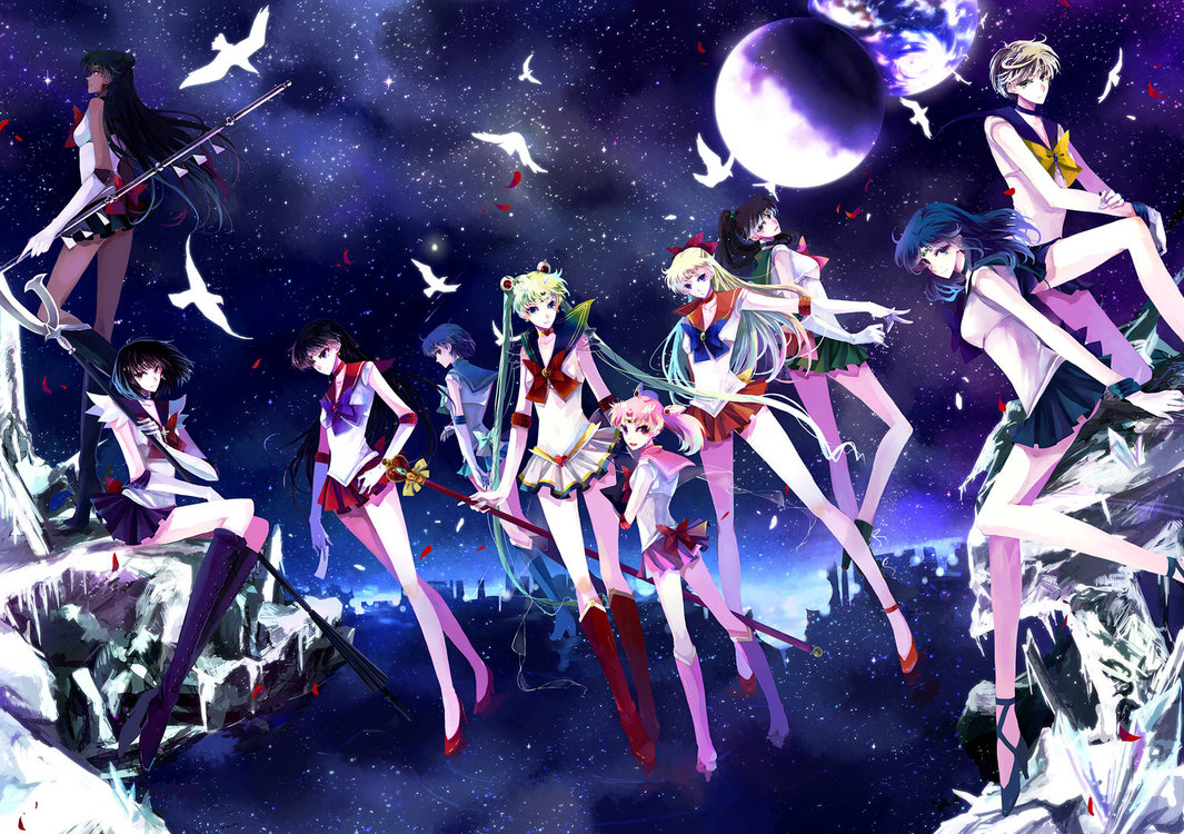 Cool Anime and Manga Sailor Moon Image Gallery Background HD Wallpaper