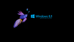 Free Download Windows 8.1 3D Black Wallpapers HD Desktop WIdescreen