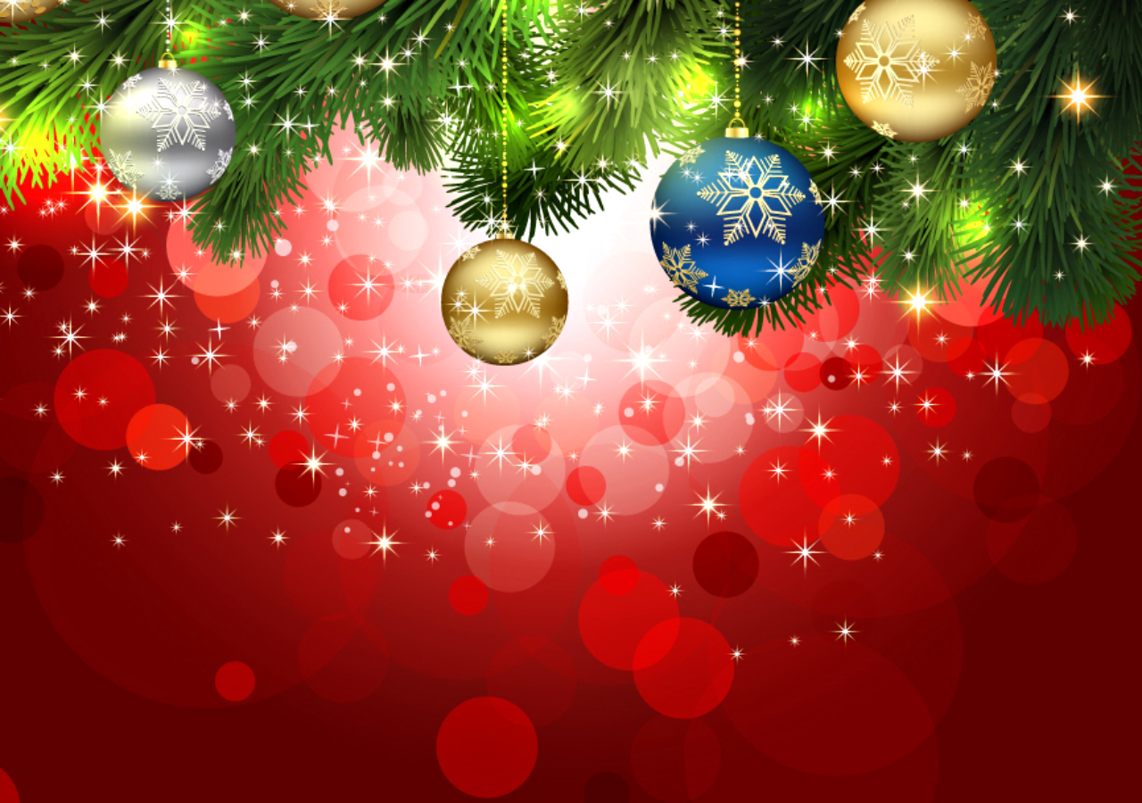 Merry Christmas Happy Holiday Wallpaper HD Desktop PC
