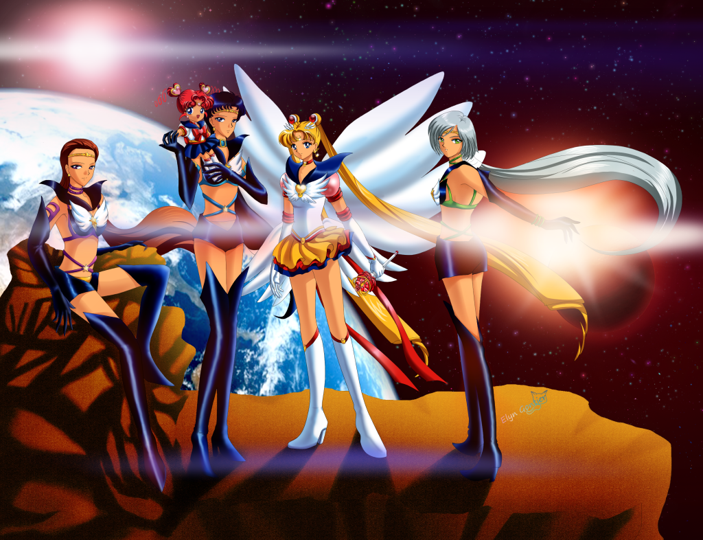 Sailor Moon HD Wallpapers Free Downloads Anime BAckground for Desktop Image Gallery