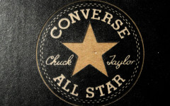 Converse All Star Chuck Taylor Gold Logo HD Wallpaper Widescreen High Quality