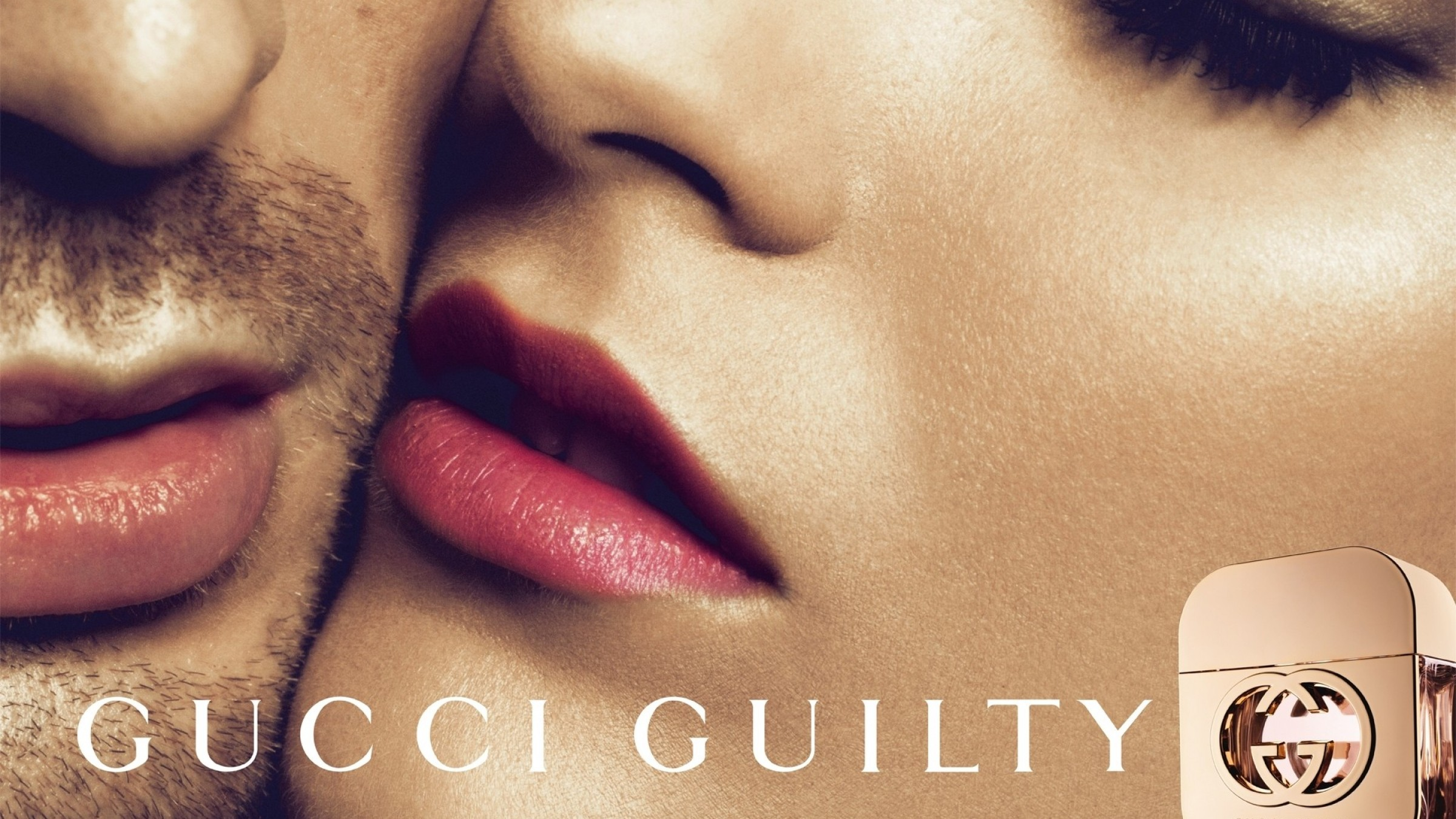 Gucci Guilty Cara Fregrance Perfume Toque Menina Download Free Wallpapers HD