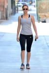 Jennifer Lawrence in Yoga Pants showing some Camel Toe