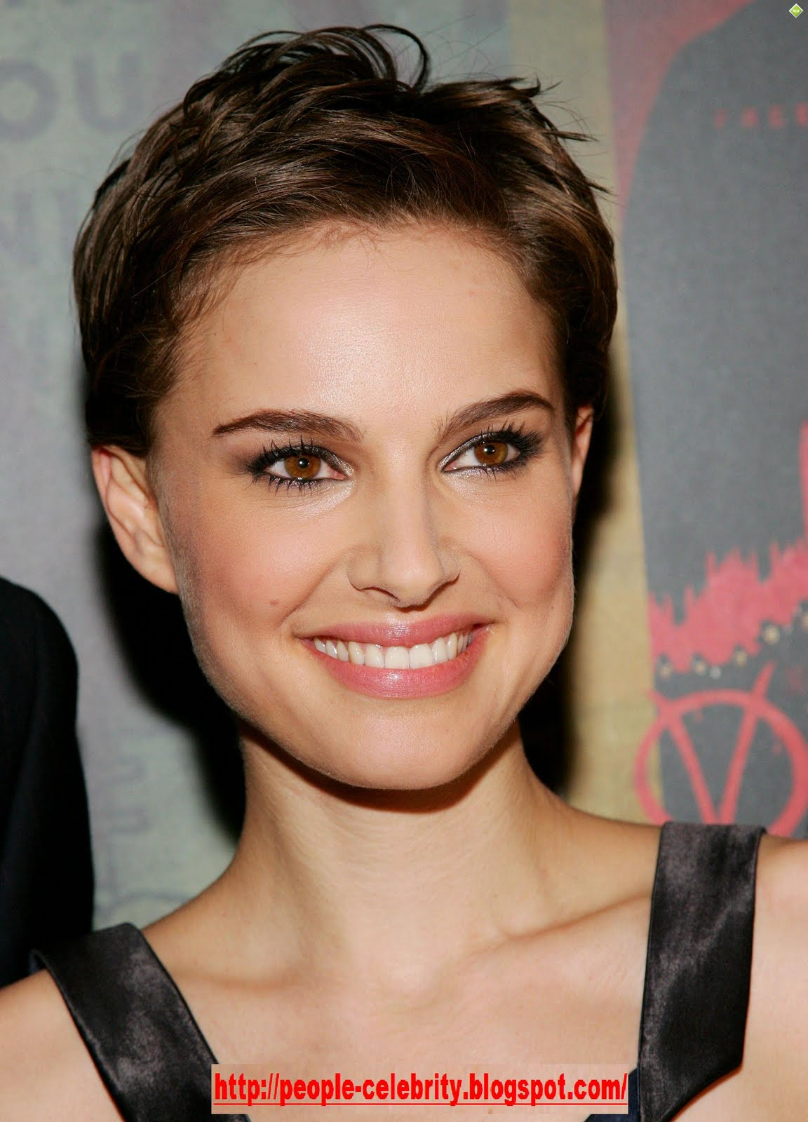 Celebrity Natalie Portman Short Hairstyle Picture hd wallpaper