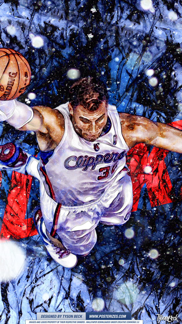 Blake Griffin 'XMAS' Wallpaper | Posterizes | NBA Wallpapers