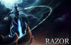 Dota 2 Razor Image Picture Gallery PC Games Free Download HD Wallpapers