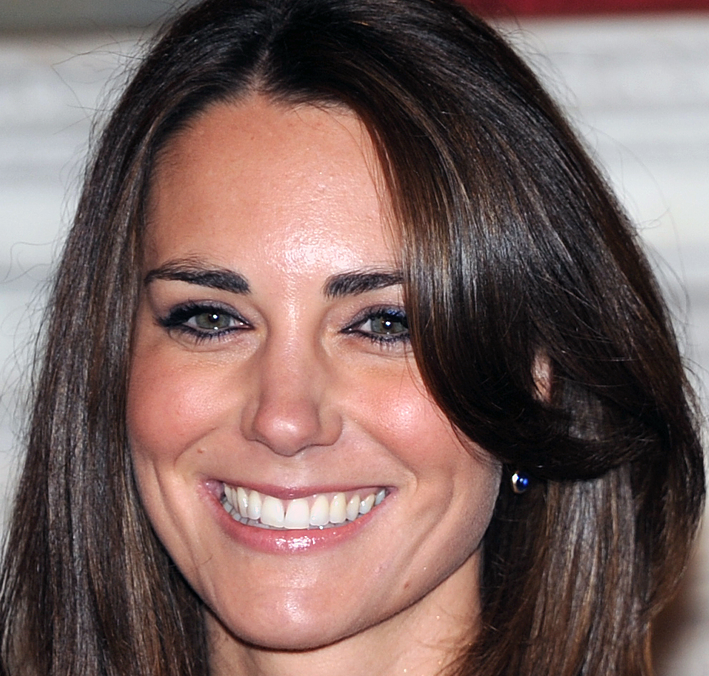 Kate Middleton pips Diana to become ''3rd most beautiful royal