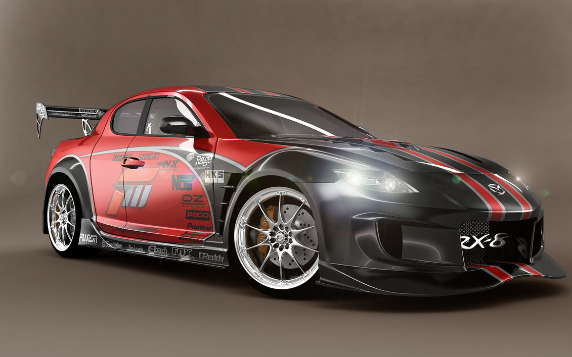 Mazda RX8 Race Car HD Wallpapers | Car Wallpapers