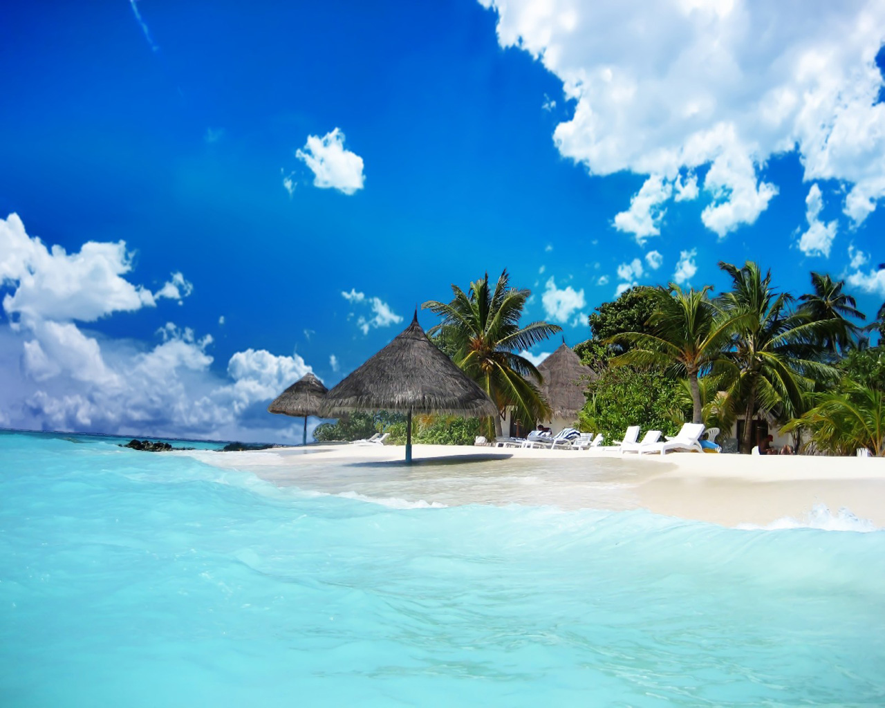 Beautiful Beach Resort Wallpapers, Beautiful Beach Resort Myspace