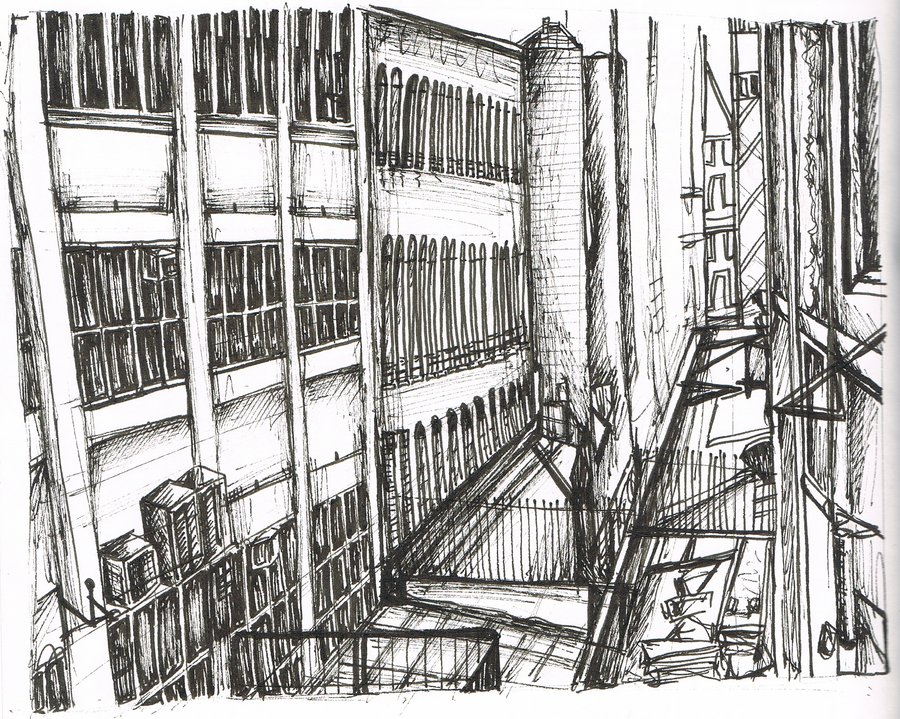 NEW YORK TRIP SKETCHES-BUILDINGS by antoinetteblu on deviantART