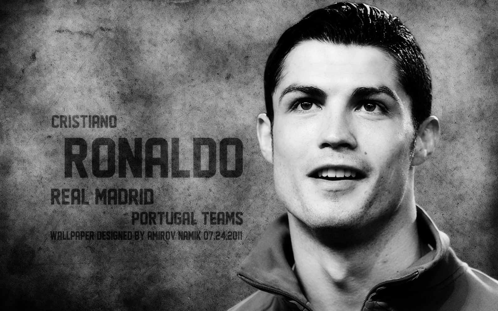 Cristiano Ronaldo Real Madrid HD Wallpaper