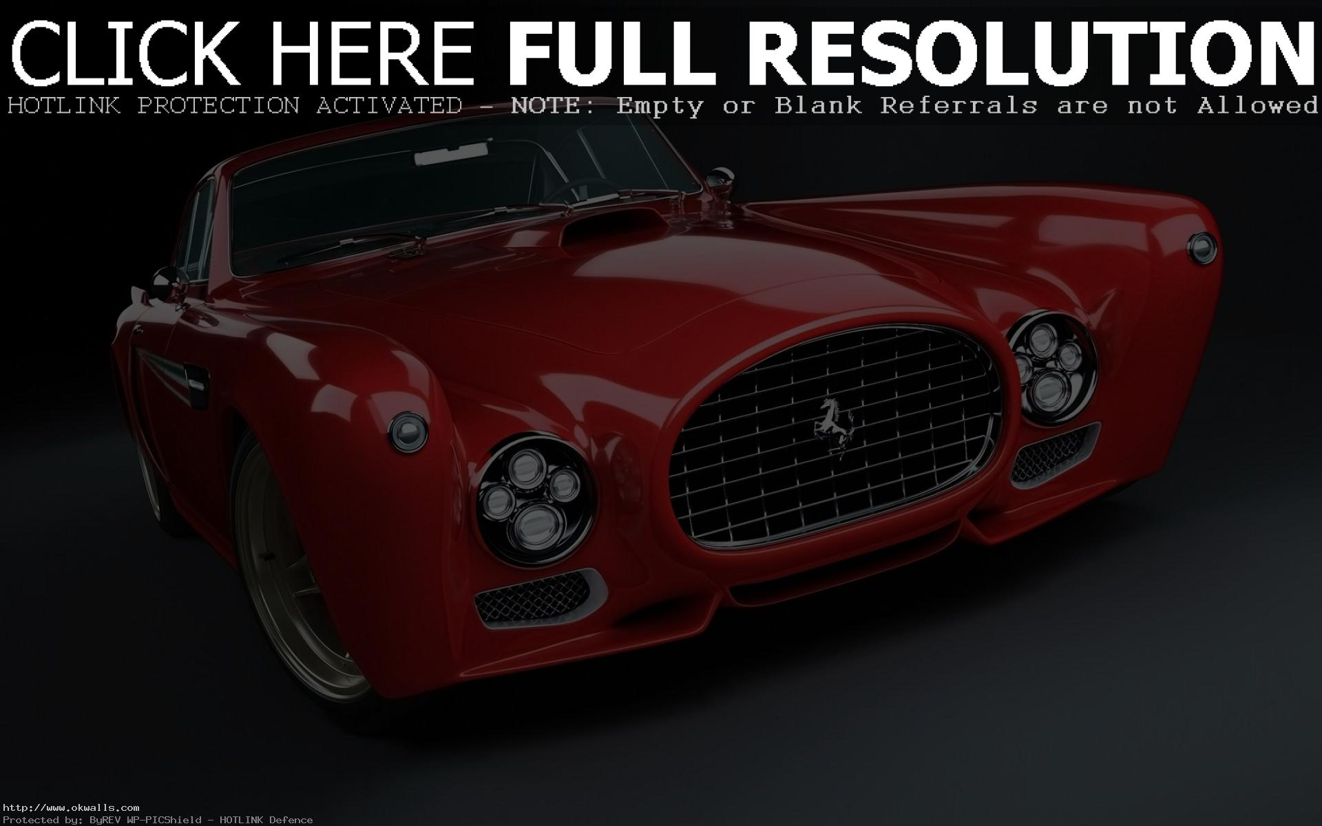 Gullwing red Ferrari F340 HD wallpaper | OK Wallpapers for desktop