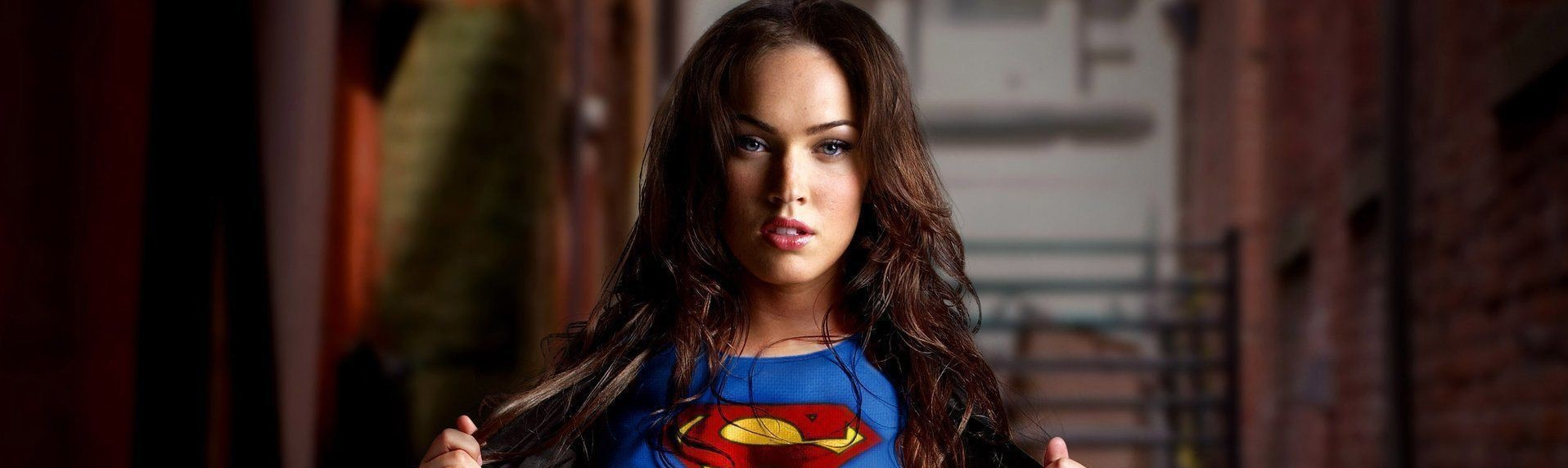 Megan Fox Megan Fox hot sexy superman costume hd wallpapers – World HD Wallpapers