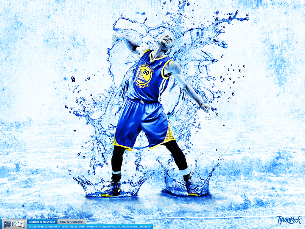Stephen Curry \'Splash\' Wallpaper | Posterizes | NBA Wallpapers