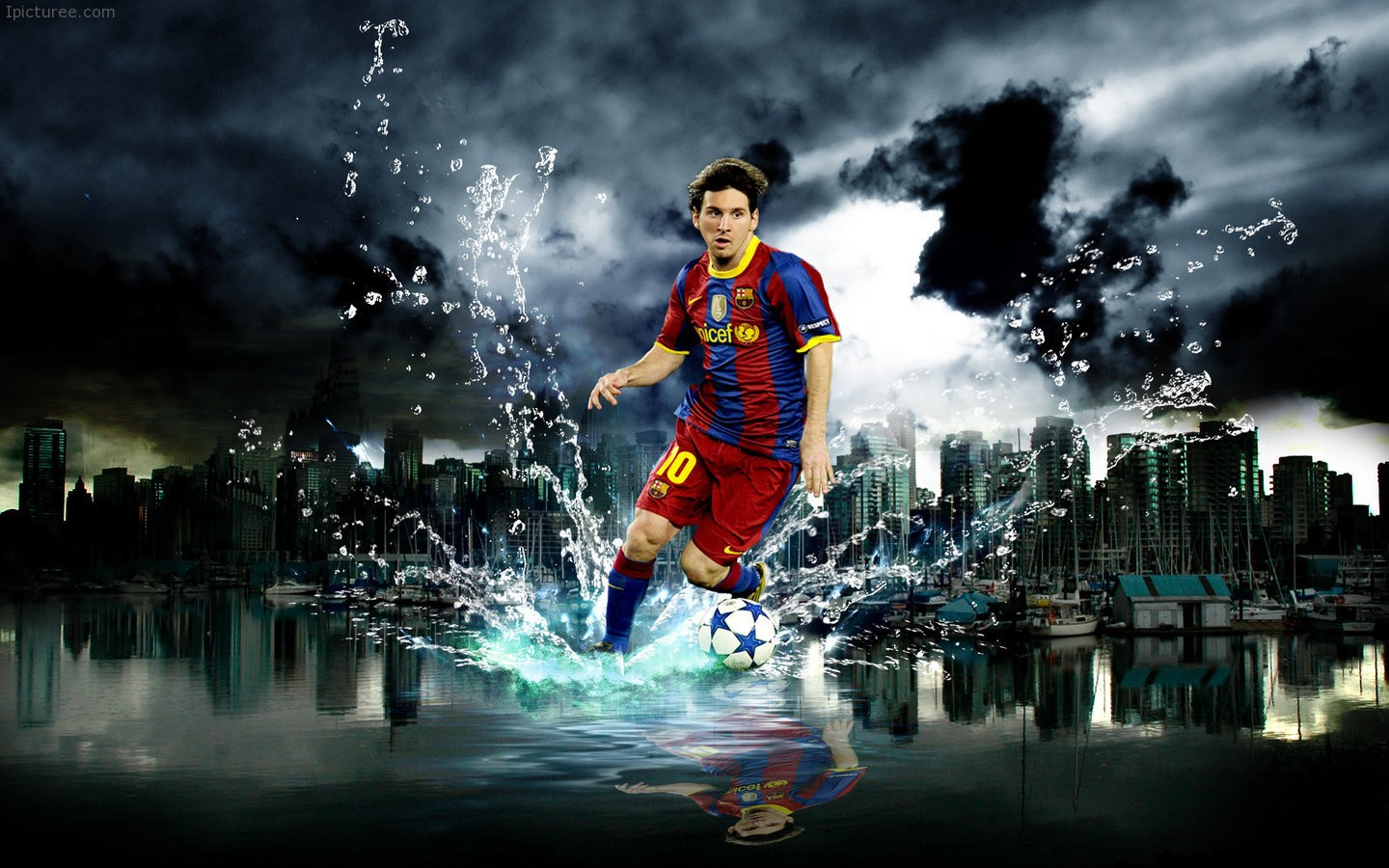 Lionel Messi FC Barcelona Wallpaper – Lionel Andres Messi