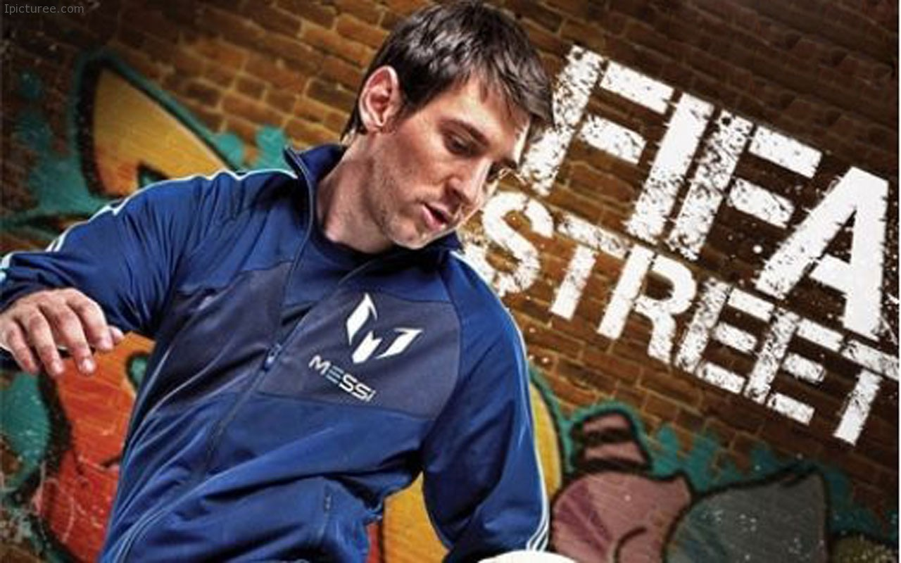 Lionel Messi FIFA Street Wallpaper HD Widescreen