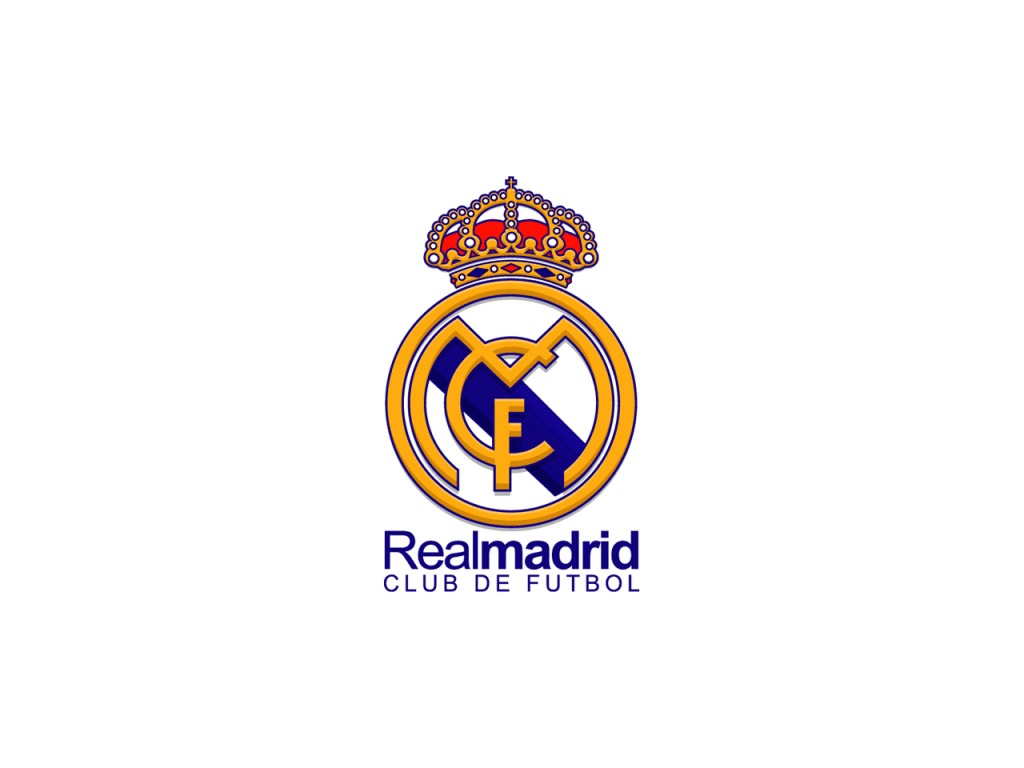 New Real Madrid Logo Wallpaper HD