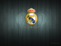 New Real Madrid Logo HD Wallpaper
