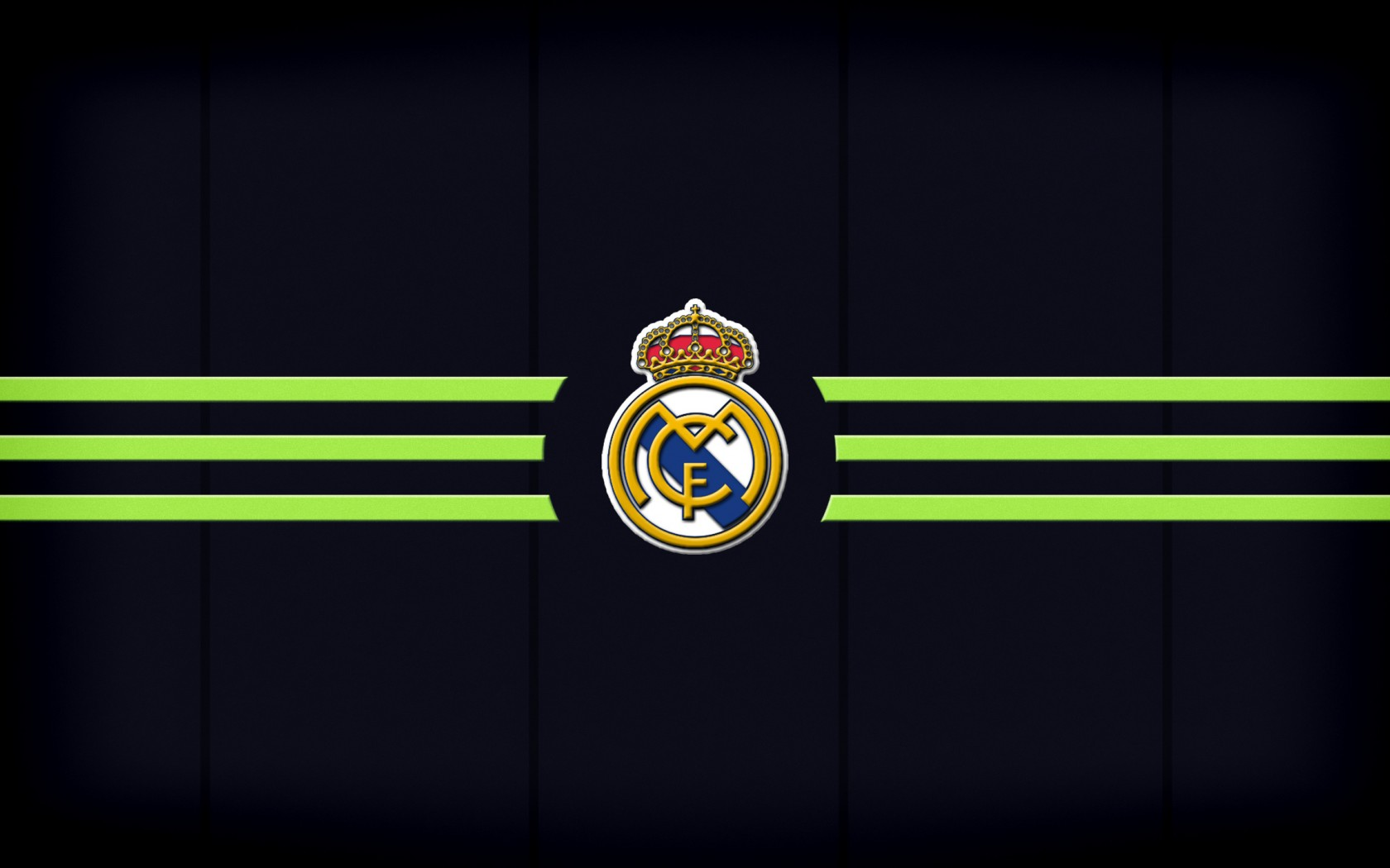 Real Madrid Fc Logo Wallpaper Hd Wallpapers Background - 1680x1050