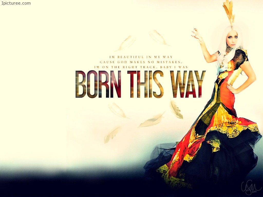 BORN THIS WAY – Lady Gaga Wallpaper