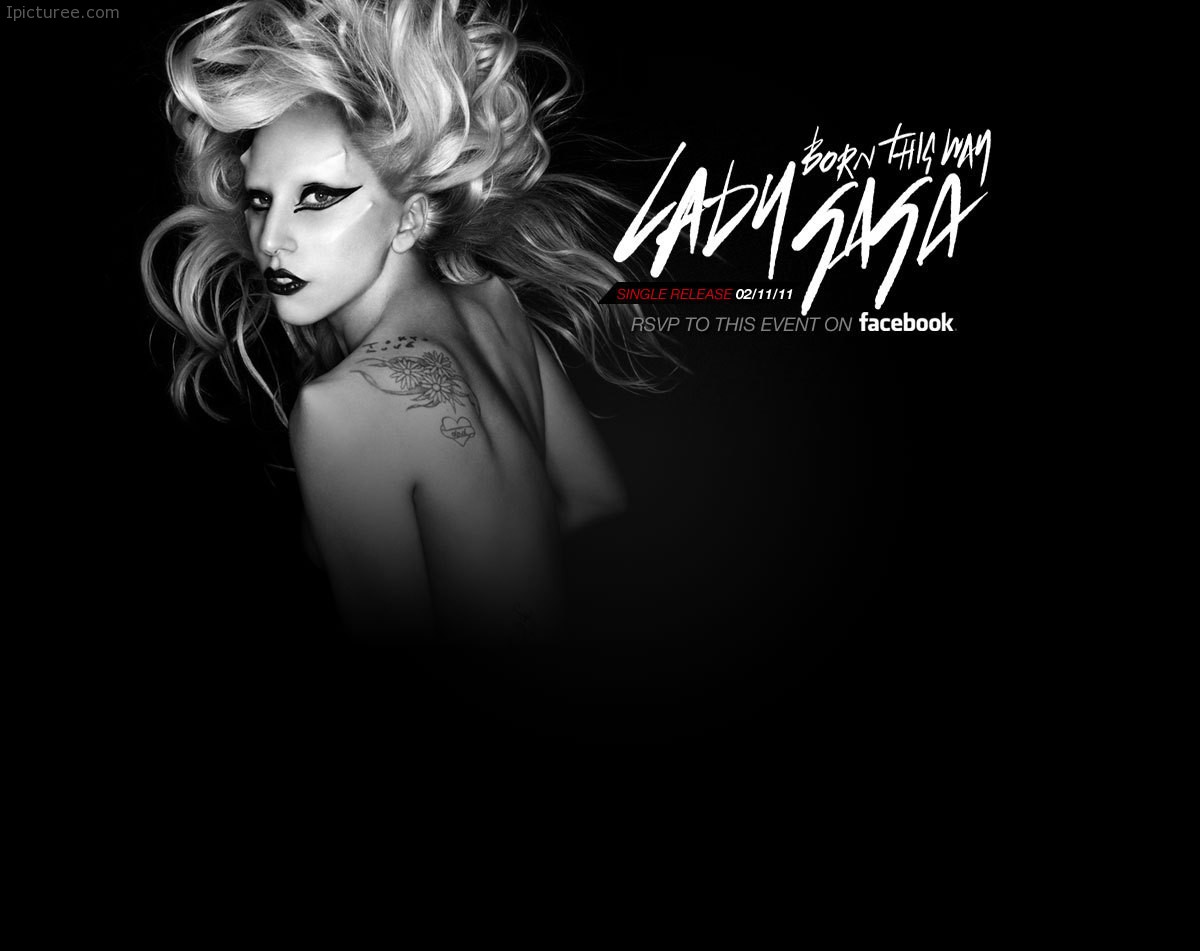 American Singer and Songwriter Lady Gaga Wallpaper