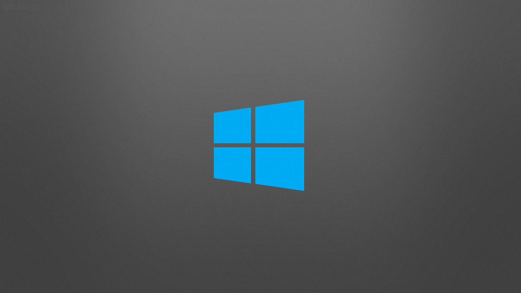 Simple Windows 8 Wallpaper (grey/blue) by mnb93