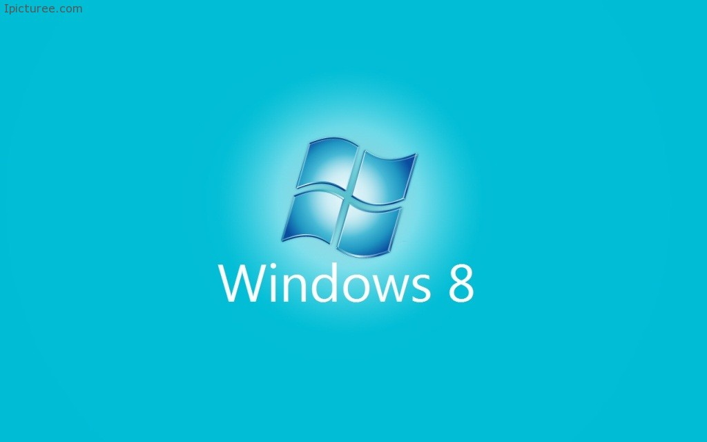 Windows 8 blue logo 1024×640 Resolutions