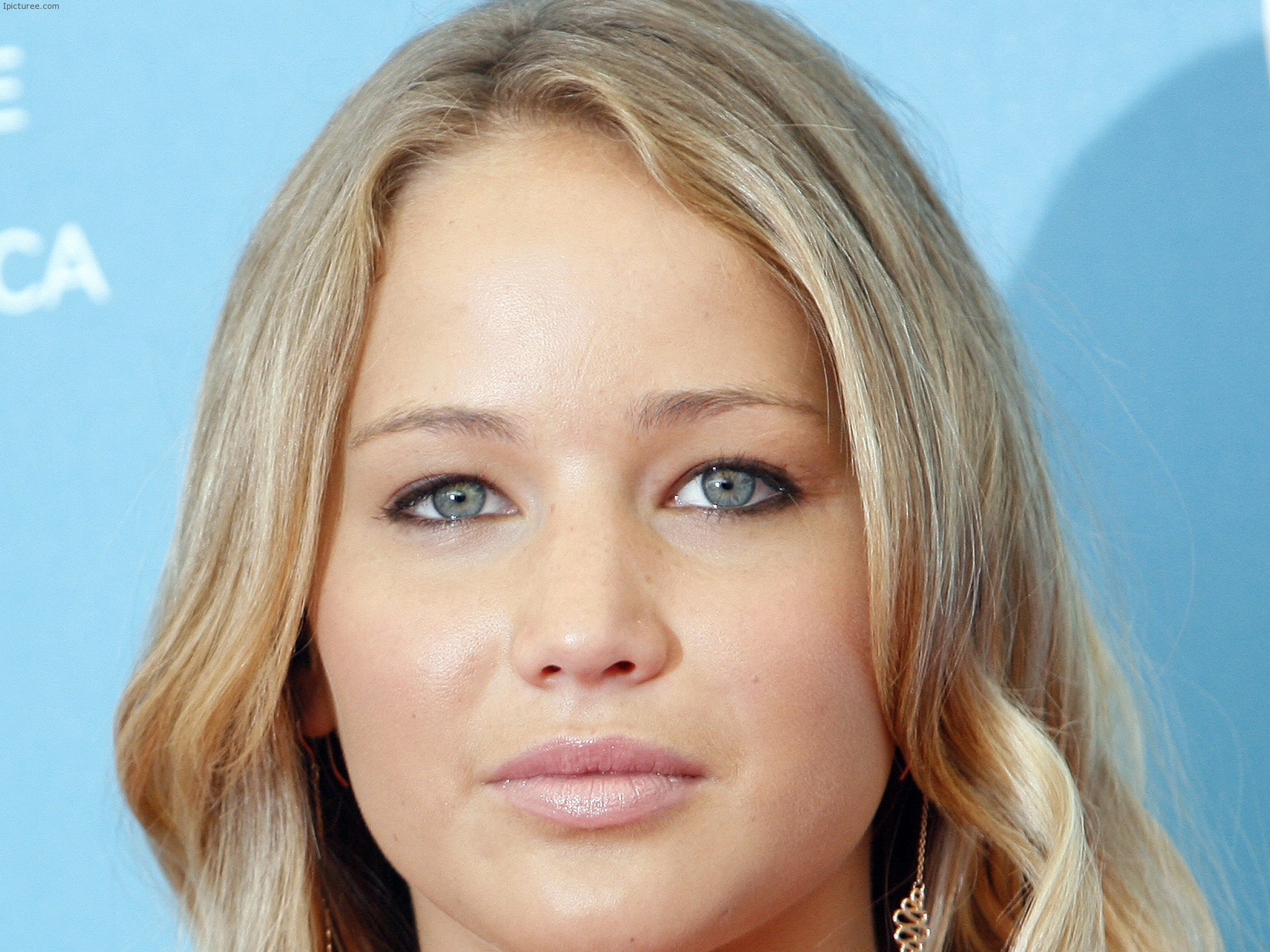 Beautiful Jennifer Lawrence Eyes Wallpaper