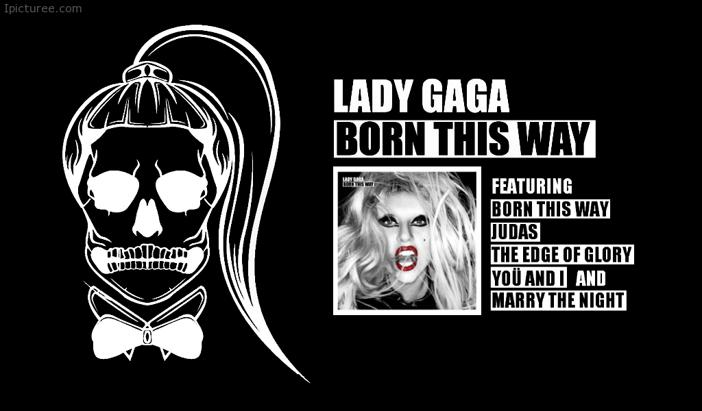 Lady Gaga - Born This Way Album Wallpaper