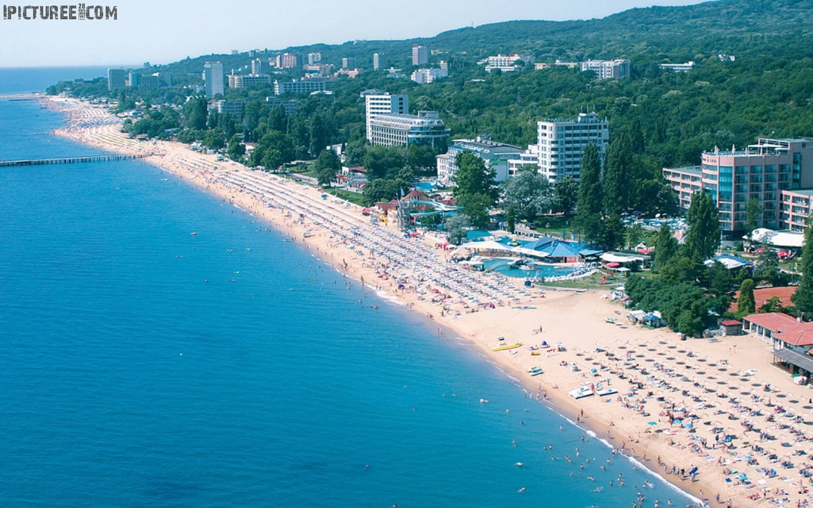 Sunny Beach resort in Bulgaria