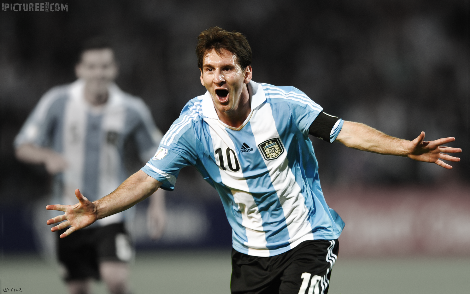 Lionel Messi world cup 2014 HD Wallpaper 1600×1000