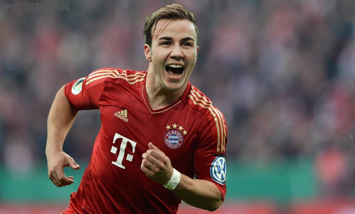 Mario Gotze Best Soccer Player Hairstyle World Cup 2014