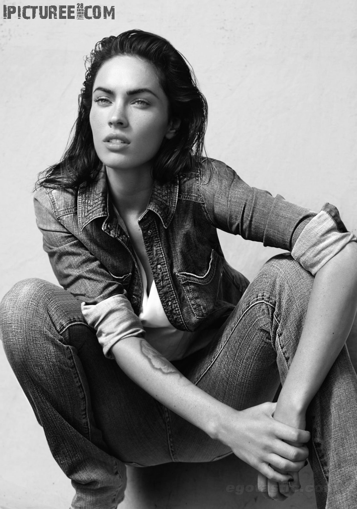 Sexy Megan Fox in Armani Jeans