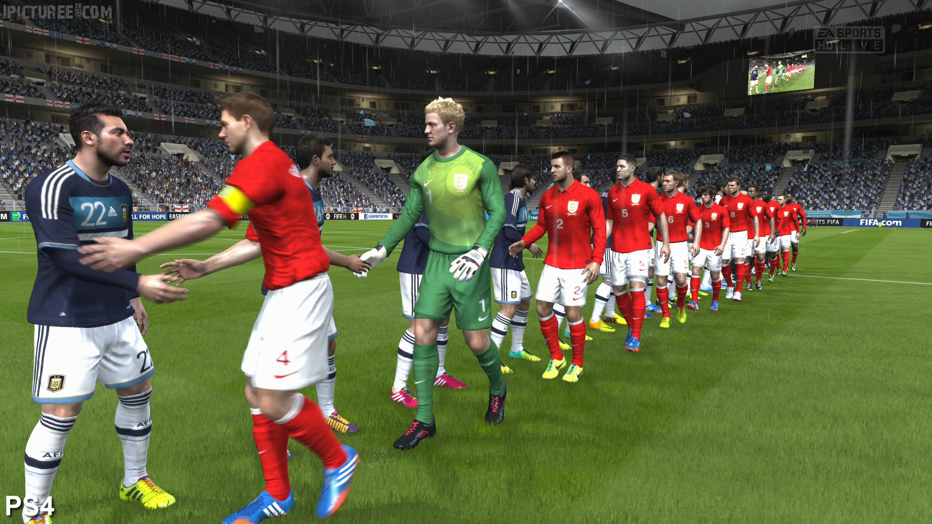 FIFA 14 PS4 Screenshot