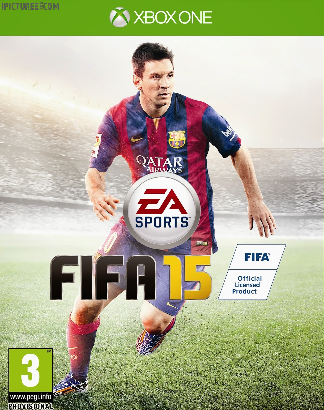 Fifa 2015 Leon Messi Xbox One Cover