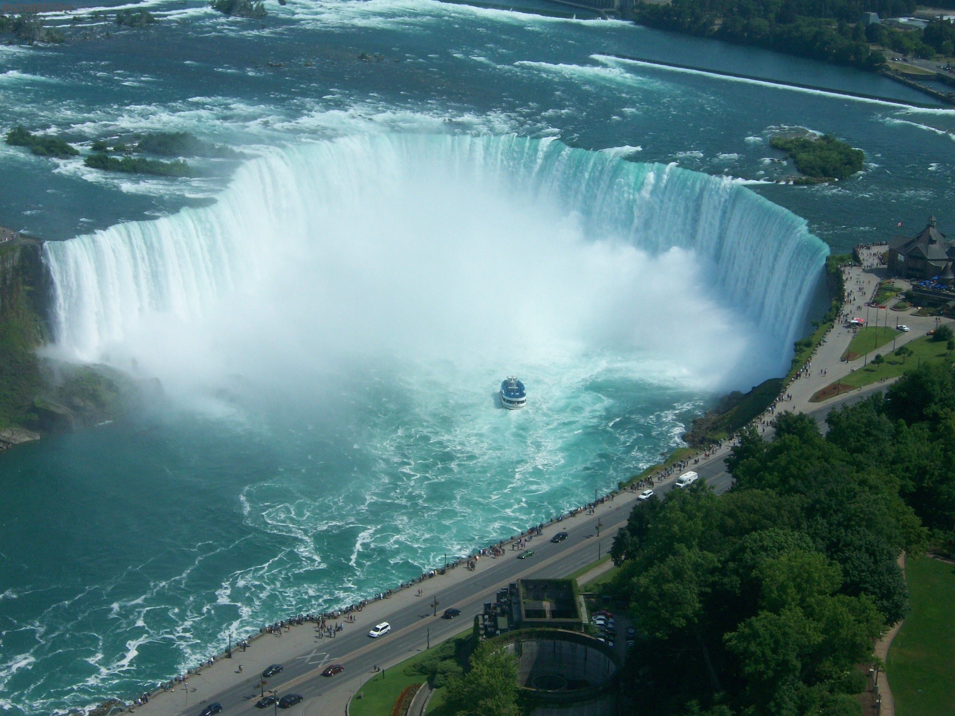 Niagara Falls Aerial View Wallpaper
