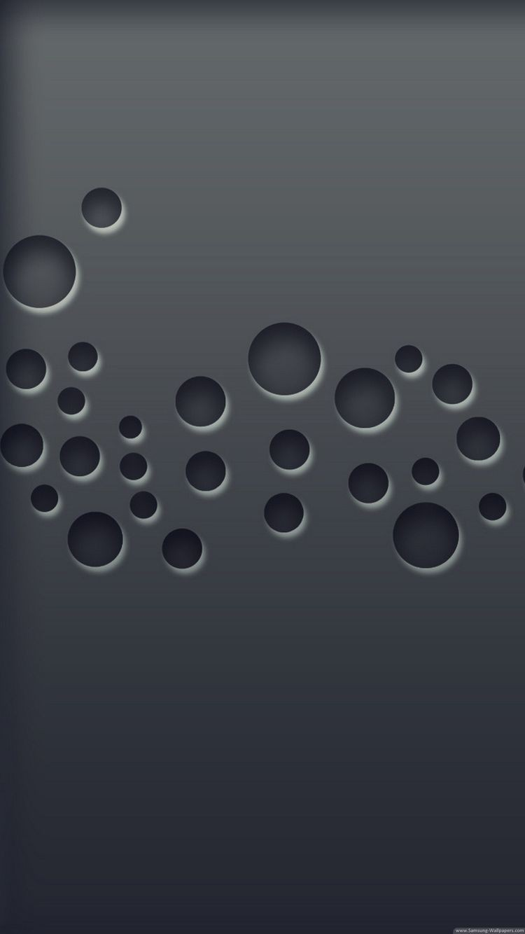 3D Bubbles iPhone 6 wallpaper