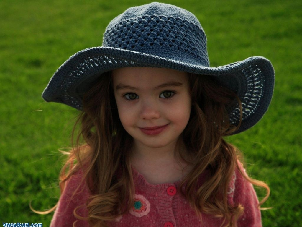 Cute Girl with a hat