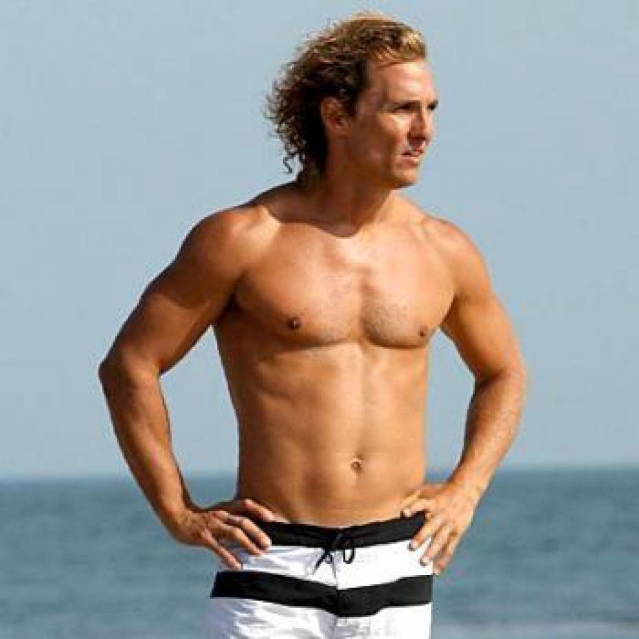 Sexy Matthew McConaughey Body