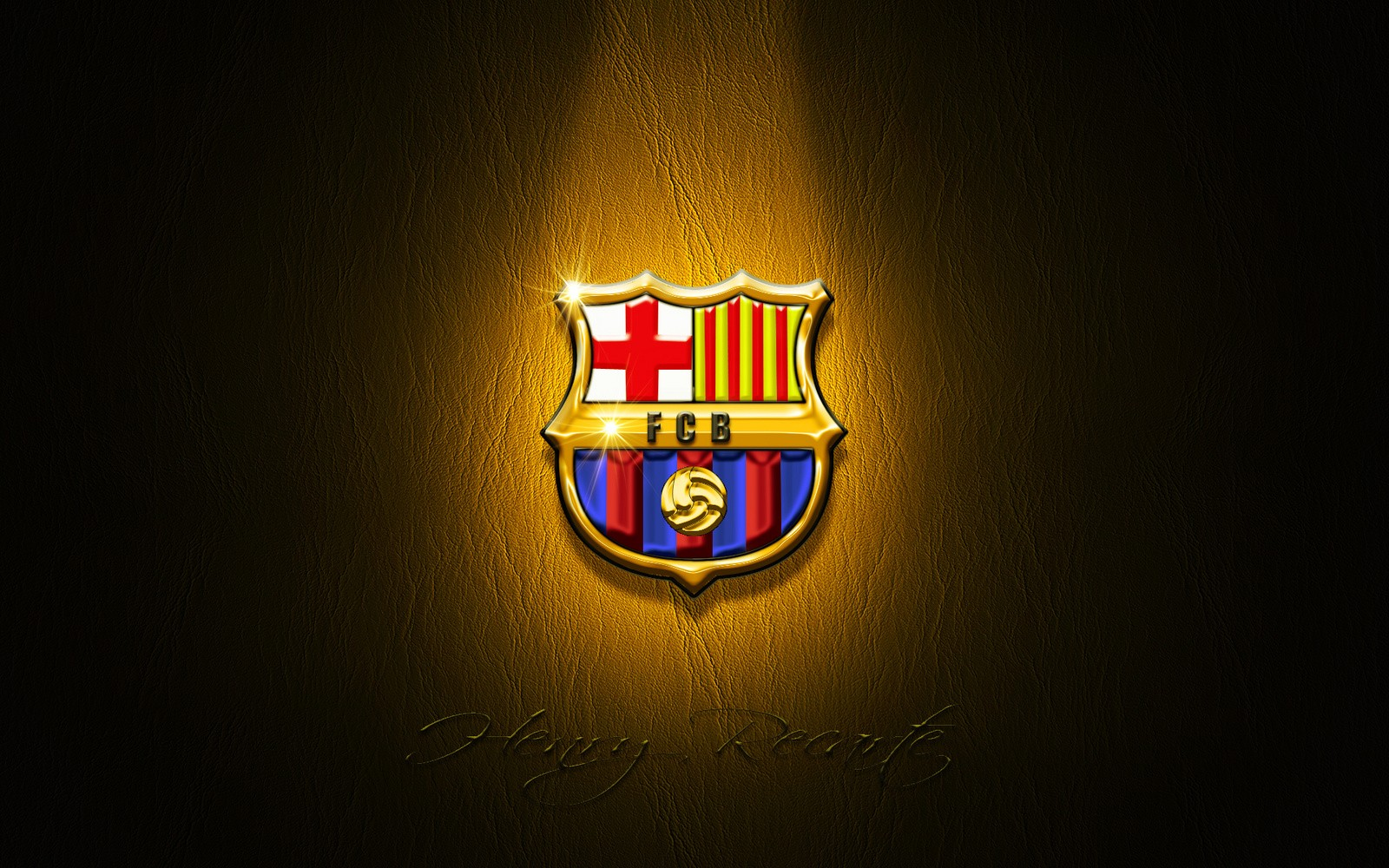 FC Barcelona Logo HD Wallpaper