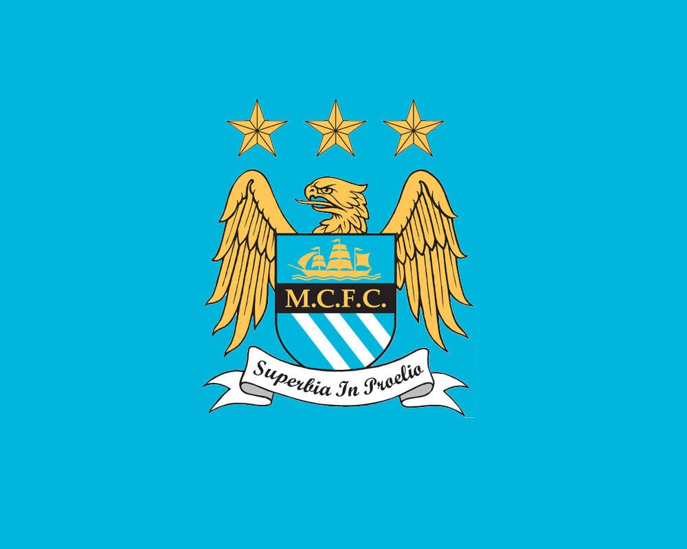 manchester city logo wallpaper