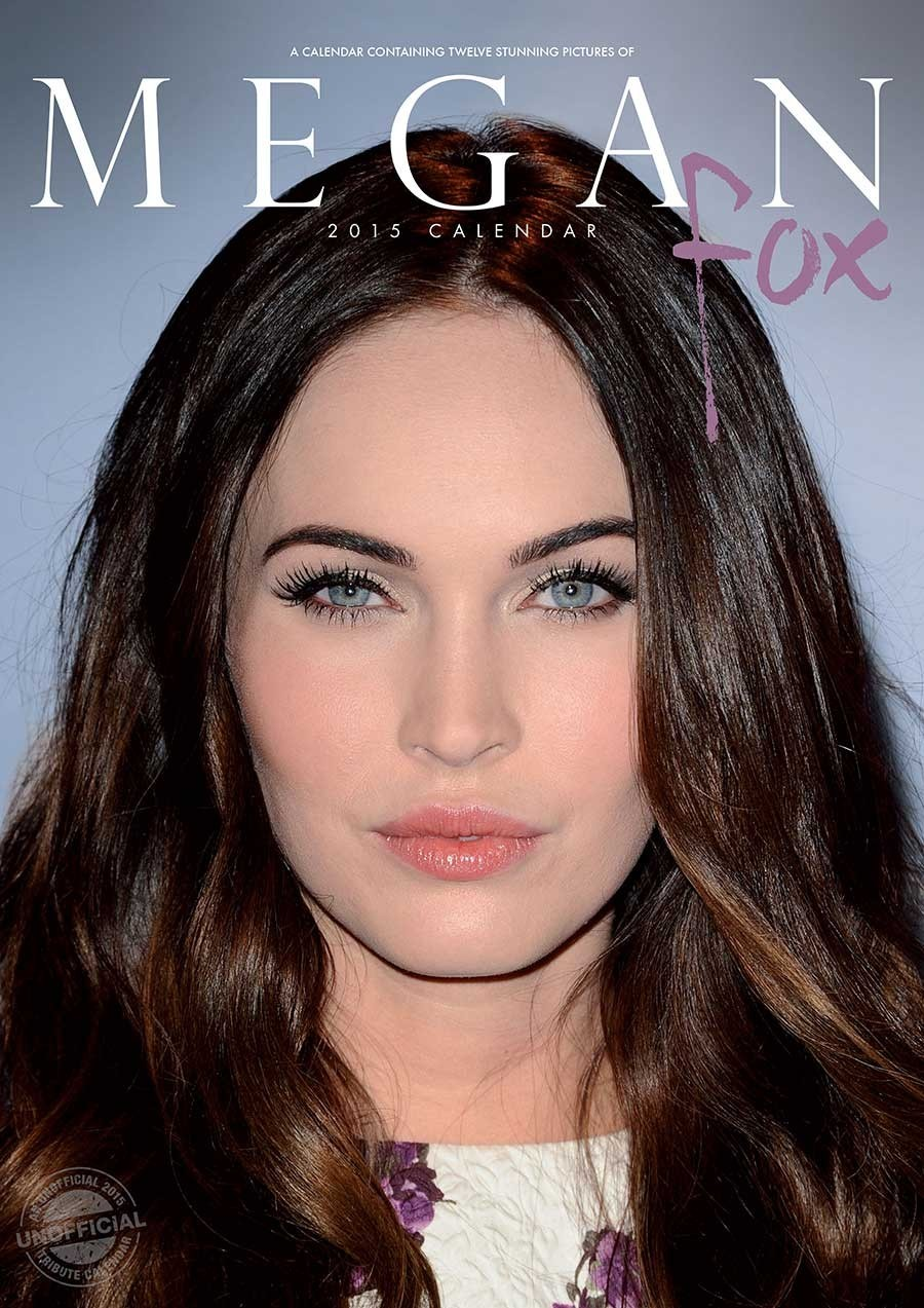 Megan Fox Calendar Cover Page