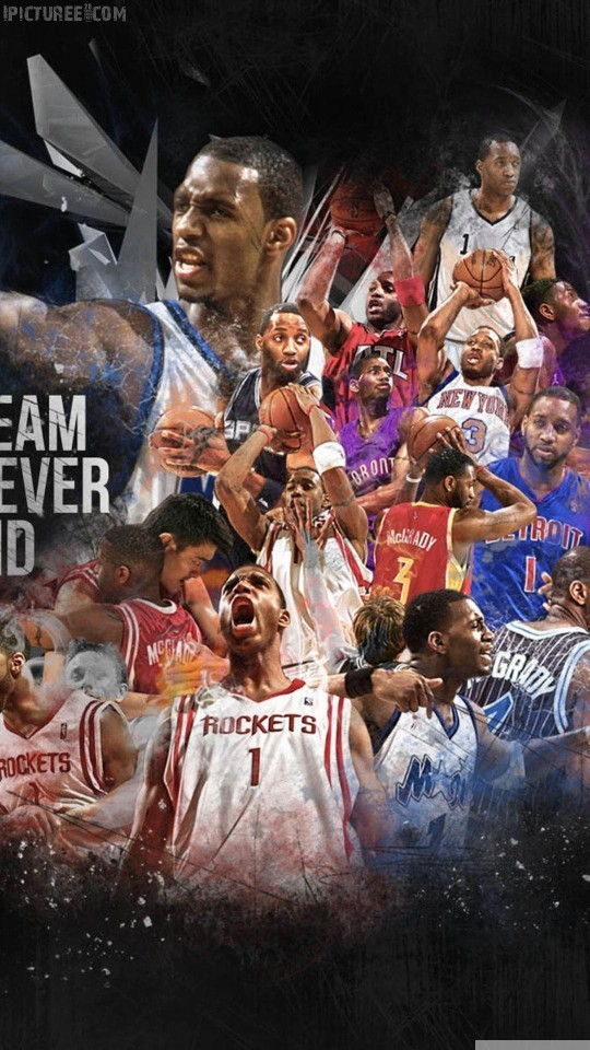 NBA AllStars iPhone 6 HD Wallpaper