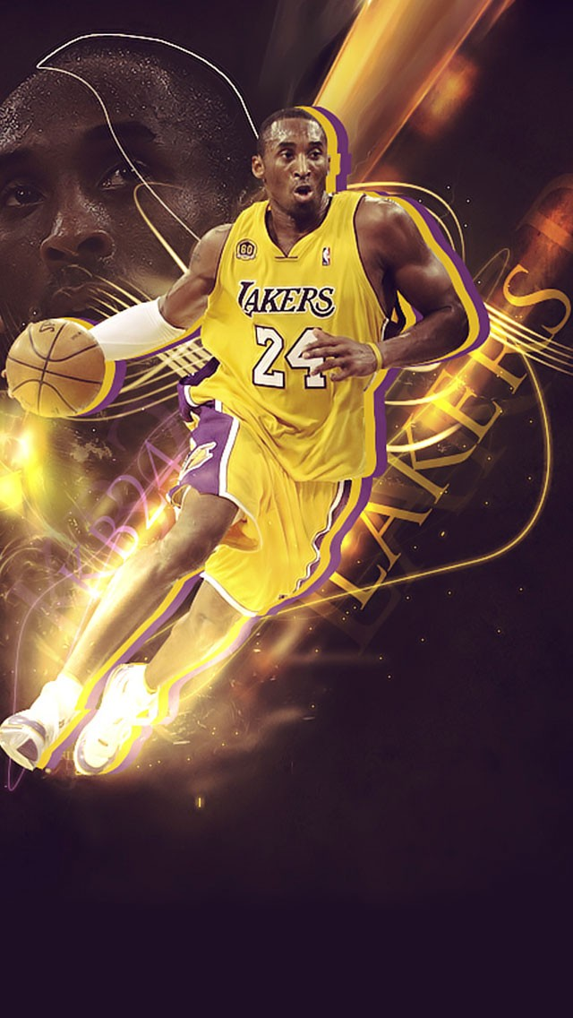 NBA Kobe Bryant iPhone 6 Wallpaper