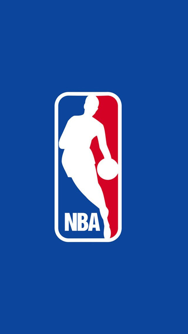 NBA Logo iPhone 6 Wallpaper
