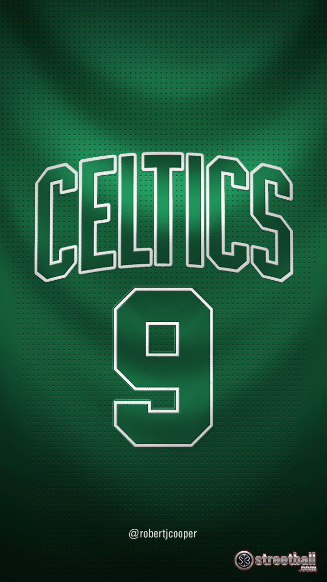 NBA Celtics Number 9 Wallpaper